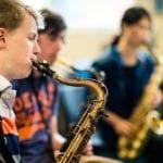Jazz class  MusicFest Aberystwyth  July 2016   ©keith morris www.artswebwales.com  keith@artx.co.uk  07710 285968 01970 611106