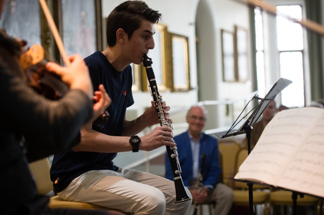 Clarinet Masterclass with David Campbell