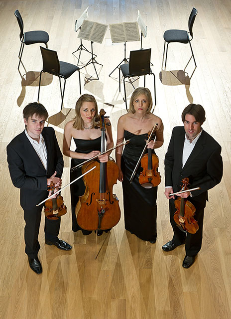 Sacconi Quartet, Solem Quartet and Tom Poster