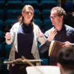 Karen Ni Bhroin on the Conducting Course with Toby Purser