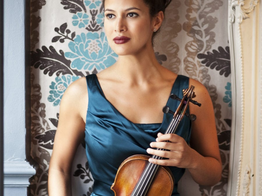 Virtuoso Violinist Elena Urioste visits Aberystwyth for the first time