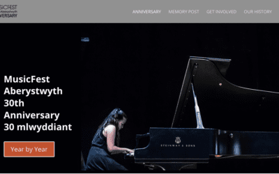 MusicFest Anniversary Site